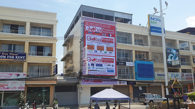 Global Property and Insurance office in Pattaya Thailand